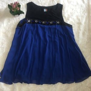 LANE BRYANT Women TUNIC -Top  sleeveless size 18